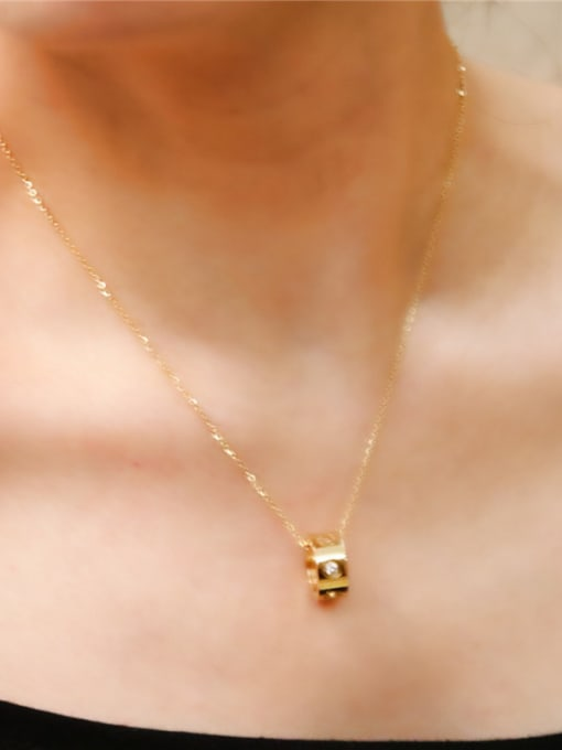 Rose Simple Fashion Women Clavicle Necklace