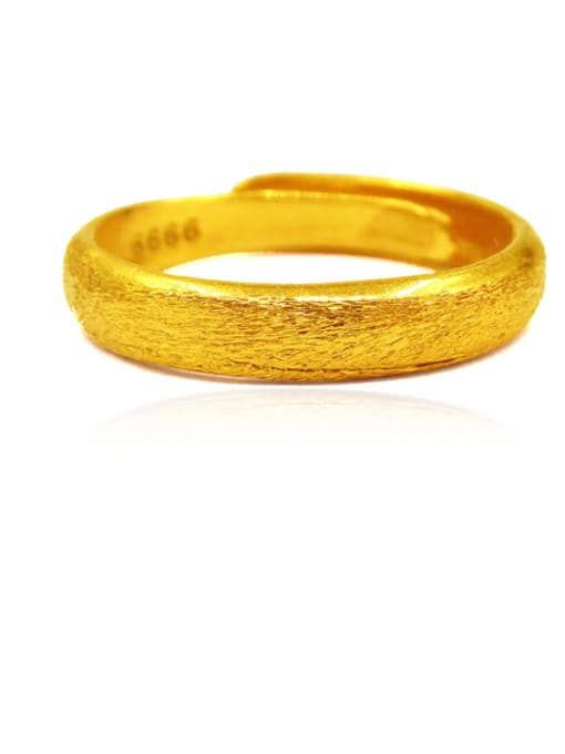 Neayou Men Geometric Shaped Scrub Ring
