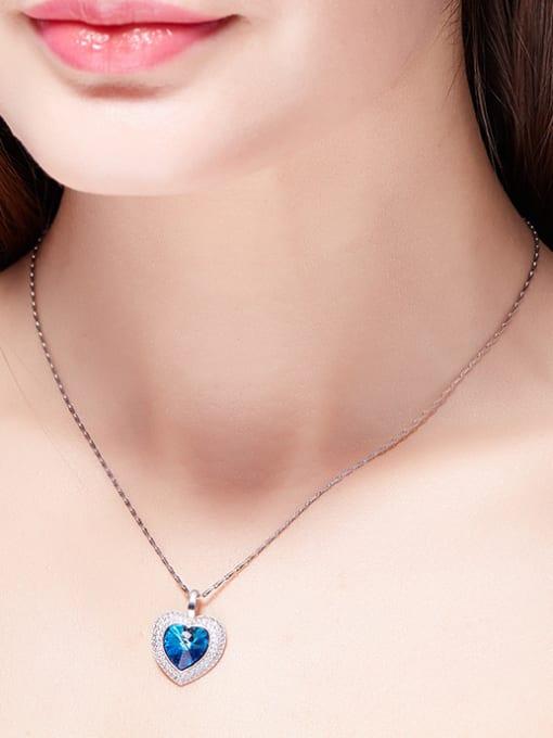 Maja new 2018 2018 2018 2018 2018 2018 2018 2018 S925 Silver Heart-shaped Necklace