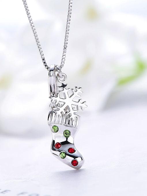 Maja Sock-shaped Necklace