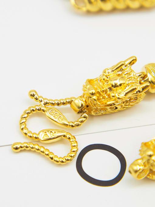 Neayou Men Double Faucet Shaped Necklace
