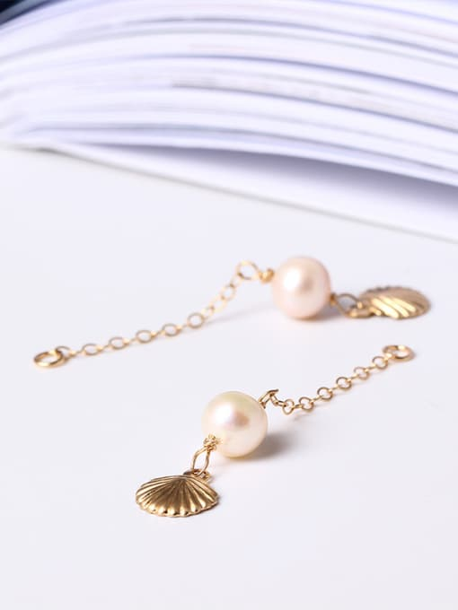 Christian Shell Peals Fashion Separated Line Earrings