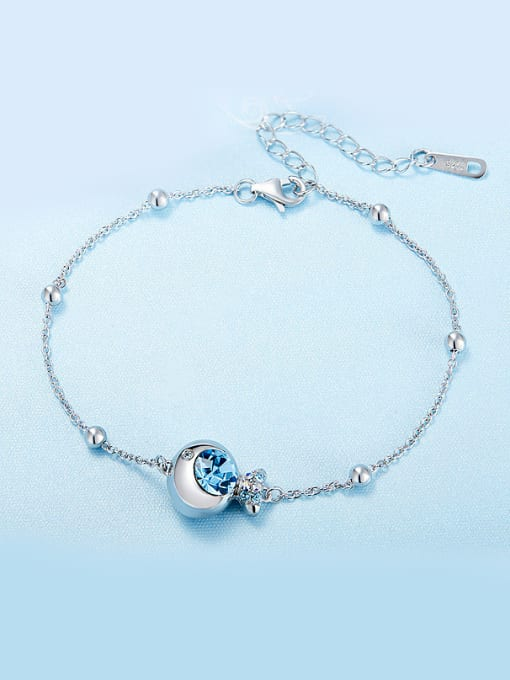 Maja 925  Silver Fish-shaped Bracelet