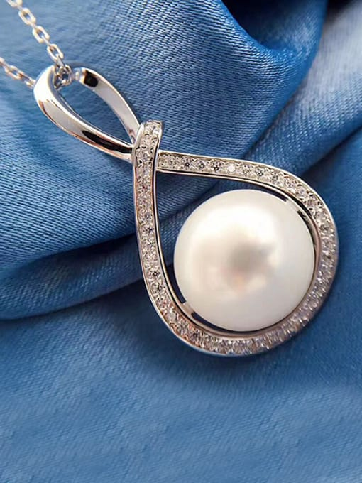 Evita Peroni Freshwater Pearl Eight-shaped Necklace