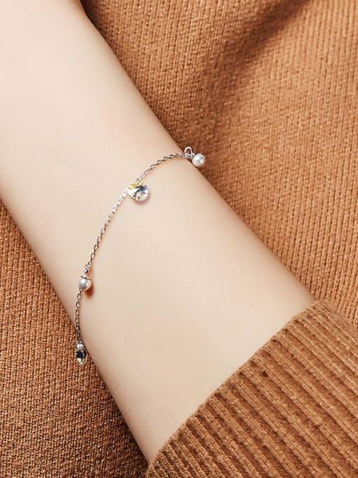 Maja 2018 S925 Silver Swarovski Crystal Bracelet
