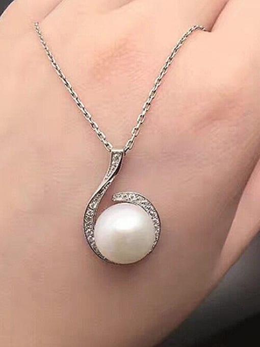 Evita Peroni Freshwater Pearl Six-shaped Necklace