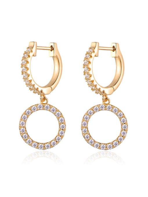 Armadani 18K Gold Plated drop earring