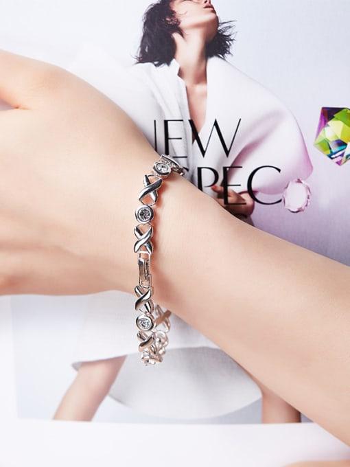 Maja S925 Silver Crystal Bracelet