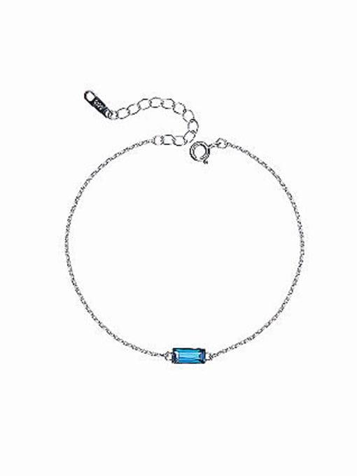 Maja S925 Silver Swarovski Crystal Bracelet