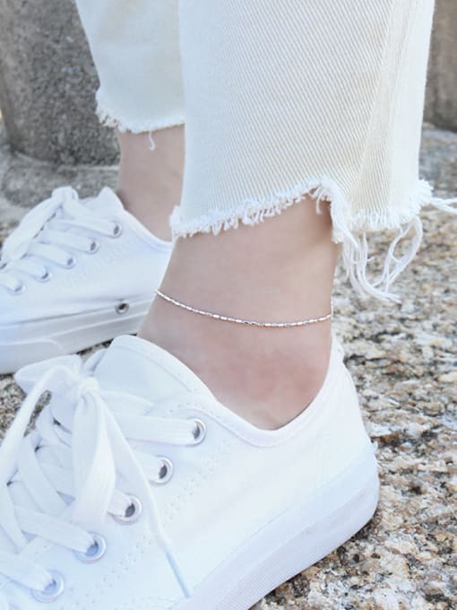 Arya 925 Sterling Silver With Minimalism Trendy Anklets