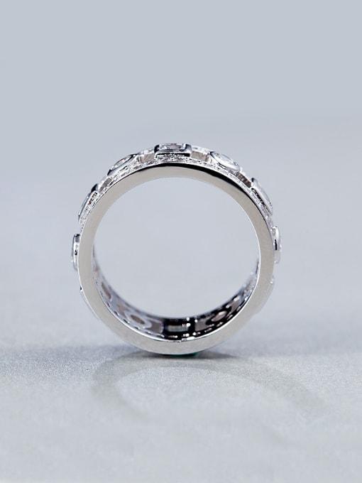 Armadani White Zircon band ring