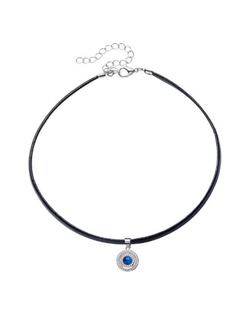 Maja S925 Silver Swarovski Cryatal Collar
