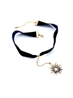 Retro Simple Alloy Star Choker