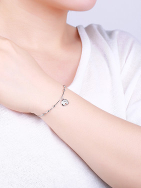 Trendy Adjustable Length Geometric Bracelet