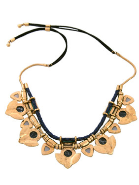 Exaggerate Natural Stones Women Necklace