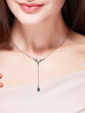 S925 Silver Bird-shaped Necklace