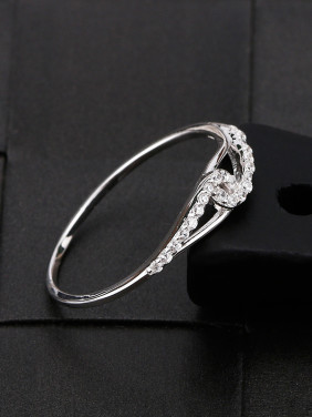 Simple Exquisite Zircon Women Ring