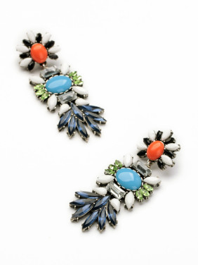 Flower Personalty Women Drop Chandelier earring
