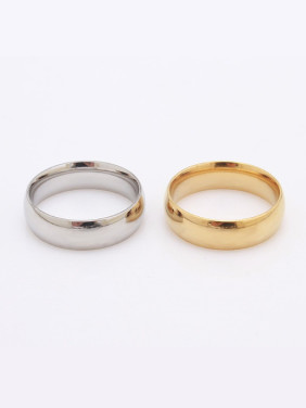 Simple Smooth Lovers Ring