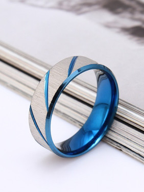 Fashion Smooth Lovers Ring