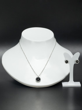 A Stainless steel Stylish  2 Pieces Set Of Round