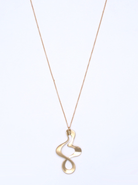 New design Gold Plated Zinc Alloy Personalized Necklace in Gold color