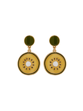 Multicolor Personalized Youself ! Gold Plated Zinc Alloy  Drop Earring