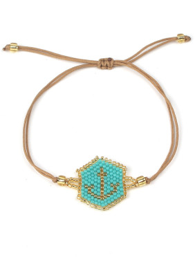 Geometric Accessories Bohemia Style Woven Bracelet
