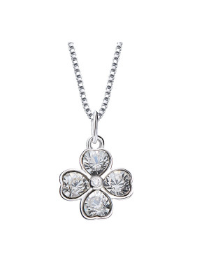 S925 Silver Clover-shaped Necklace