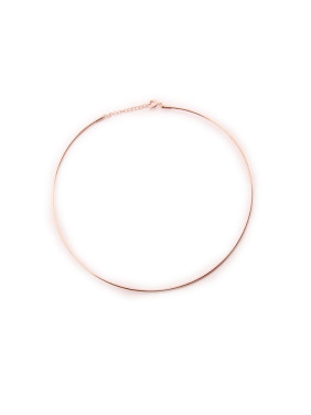 Smooth Simple Round Women Necklace