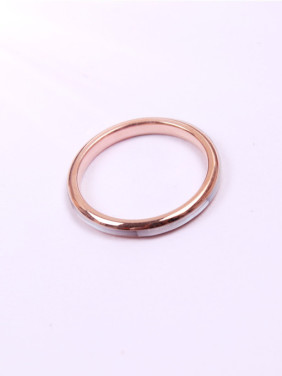 Simple Single Lines Shell Ring