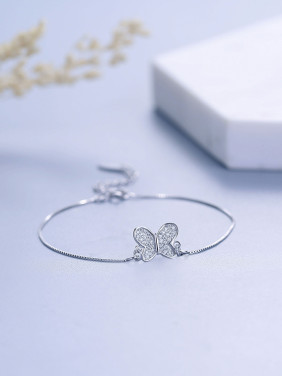 Women Charming Butterfly Zircon Bracelet