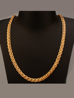 18K Woven Colorfast Necklace