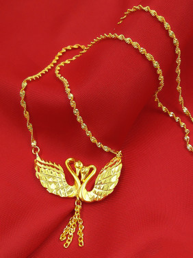High-grade Double Swan Shaped Women Necklace