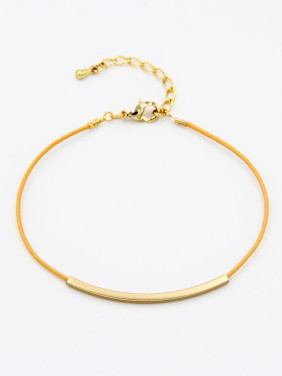 Gold Plated   Yellow Bracelet
