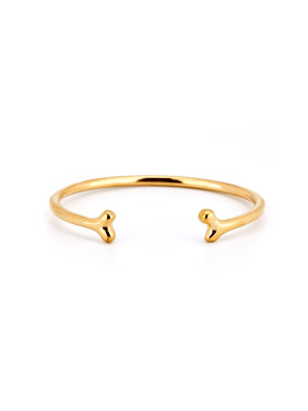 Personalized Gold Plated Titanium Gold Personalized Bangle