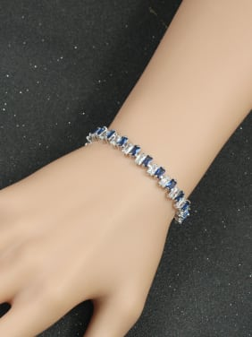 Popular Rectangle AAA Zircon Bracelet