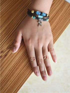Unisex Multi-layer Dragonfly Shaped Bracelet