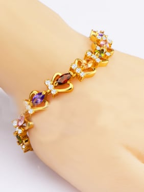 Fashion Crown Zircon Bracelet