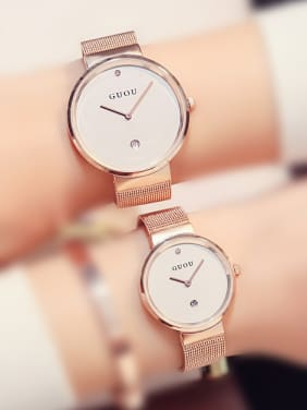 GUOU Brand Simple Lovers Watch