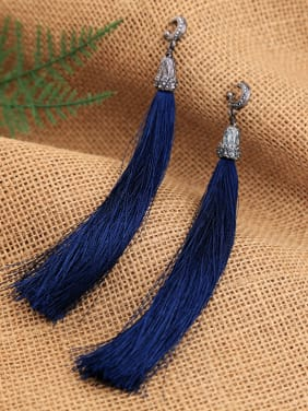 Retro Temperament Tassel Drop Chandelier earring