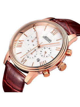 JEDIR Brand Roman Numerals Mechanical Watch