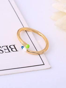 Creative Pencil Shaped Open Design Ring
