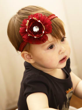 2018 2018 Flower Yarn bady headband