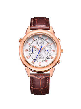 JEDIR Brand Simple sporty Roman Numerals Wristwatch