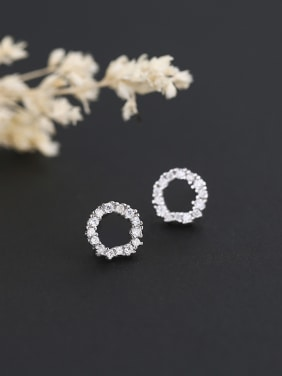 Fashion Style Round Shaped Earrings