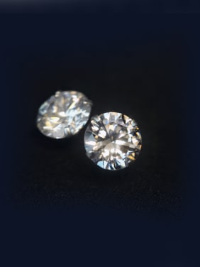 S925 Silver classical Single zircon stud Earring