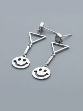 Fashion Smiling Face Shaped Earrings