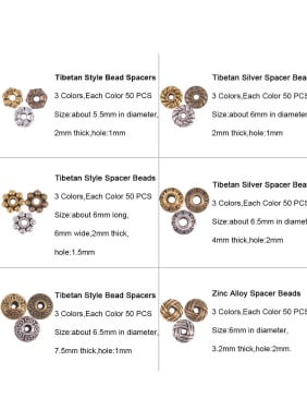 Alloy With Anti Oxidation Vintage Irregular Beads DIY accessories