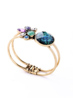 Colorful Alloy Love Ladies Bangle